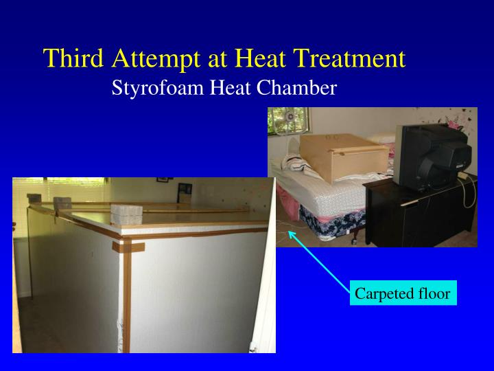 Third Attempt at Heat Treatment