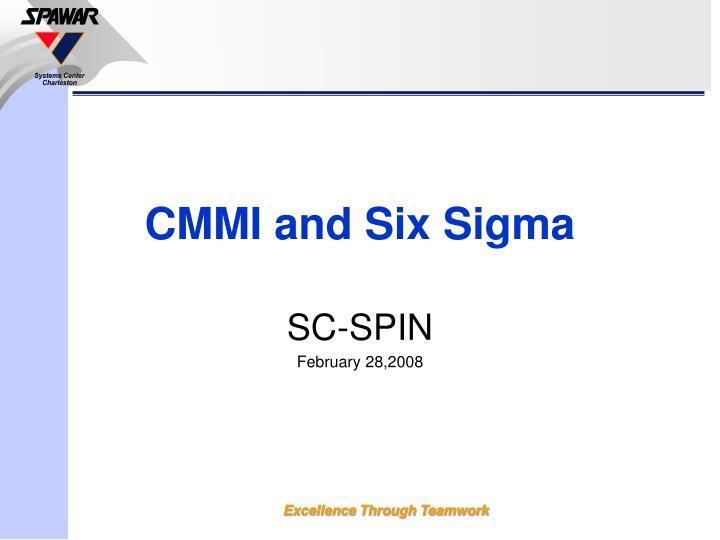cmmi and six sigma