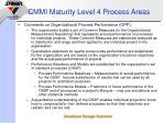 cmmi maturity level 4 process areas1