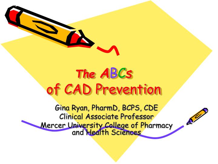 the a b c s of cad prevention n.