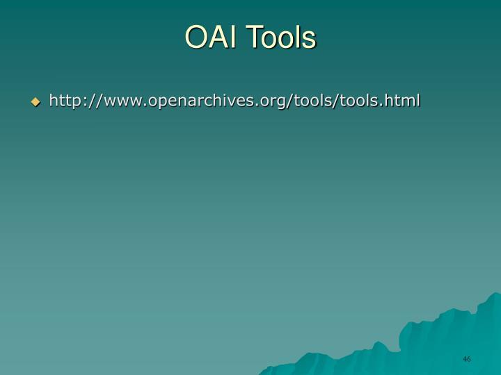 OAI Tools