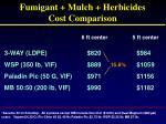 fumigant mulch herbicides cost comparison2