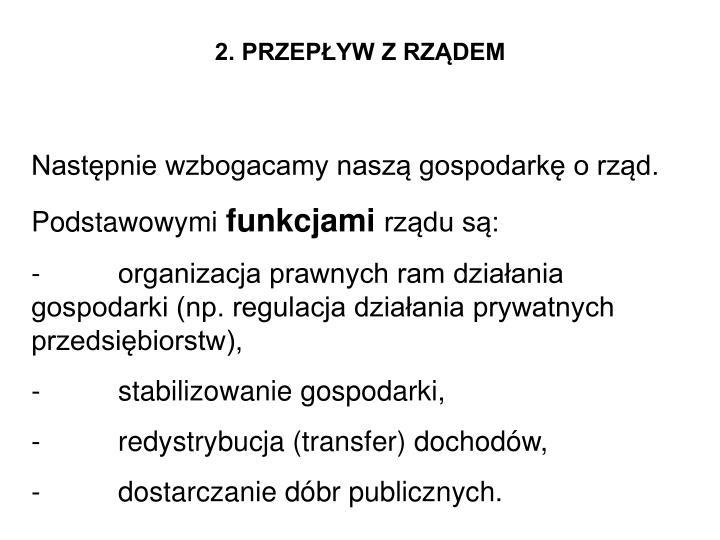 2. PRZEPŁYW Z RZĄDEM