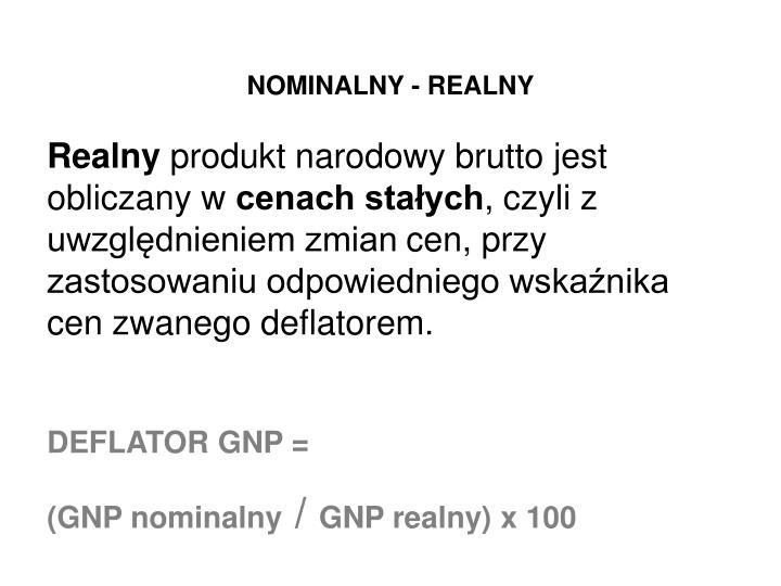 NOMINALNY