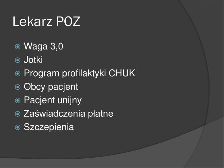 Lekarz POZ
