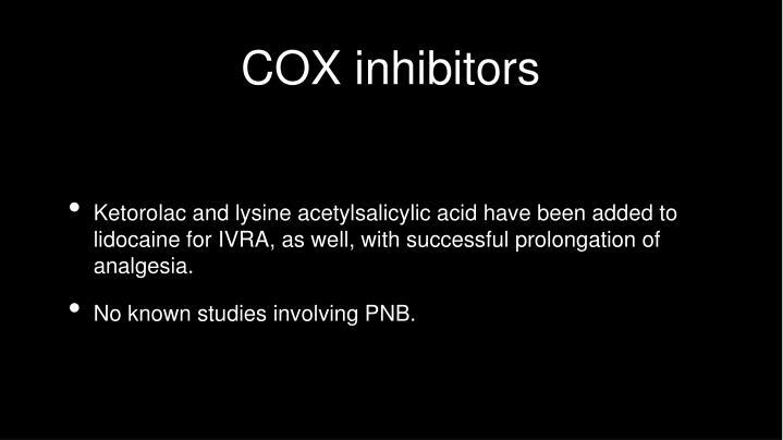 COX inhibitors