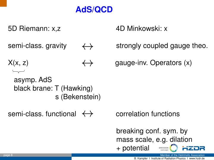 AdS/QCD