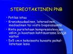 stereotaktinen pnb2