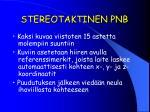stereotaktinen pnb3