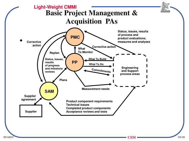 Basic Project Management &