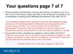 your questions page 7 of 7