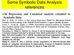 some symbolic data analysis references