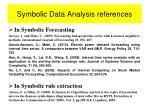 symbolic data analysis references