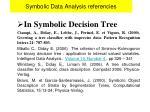 symbolic data analysis referencies