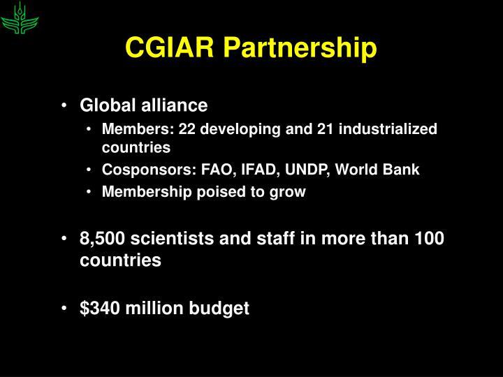 CGIAR Partnership