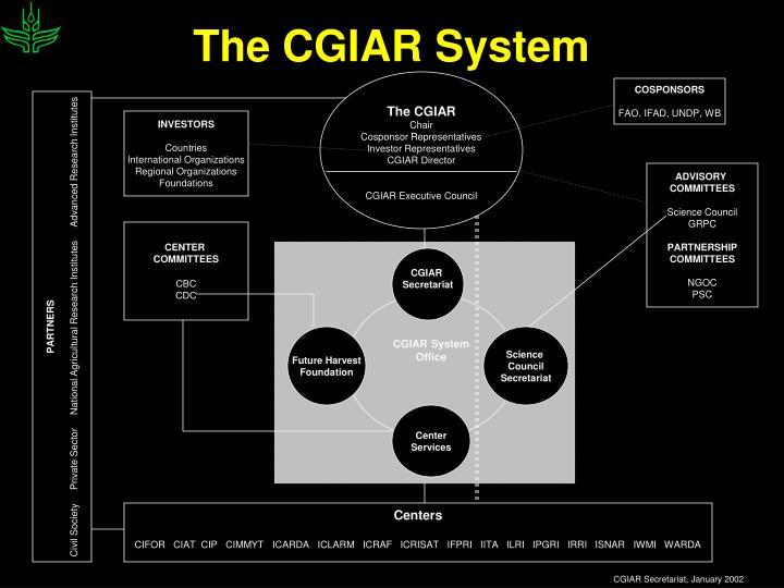 The CGIAR