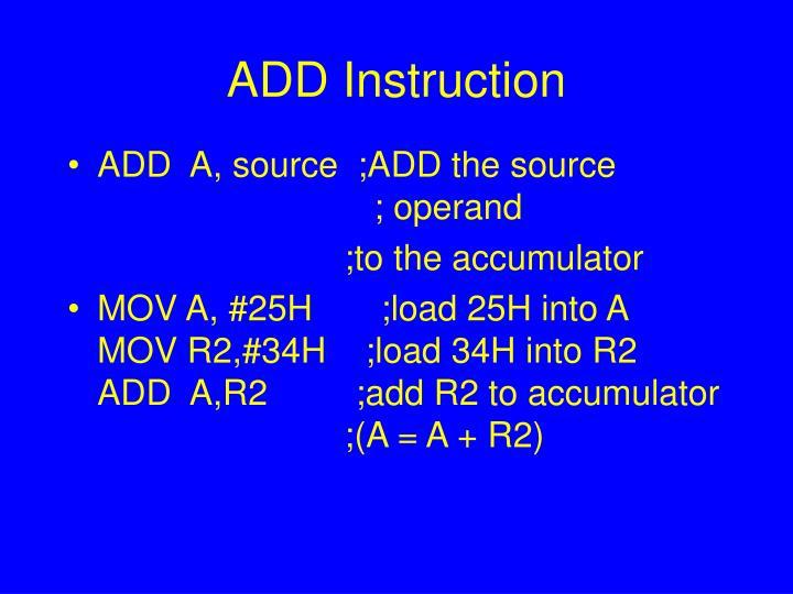 Add instruction