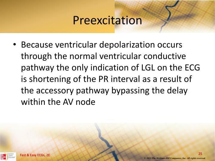 Preexcitation