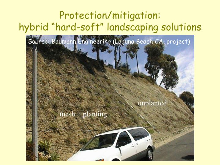 Protection/mitigation: