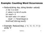 example counting word occurrences1