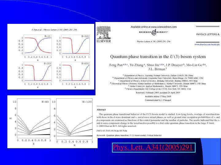 Phys. Lett. A341(2005)291