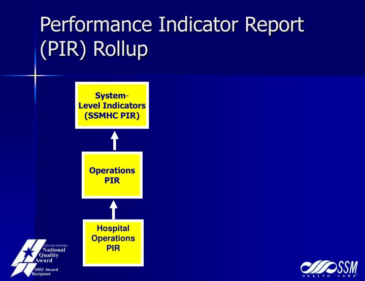 Performance Indicator Report