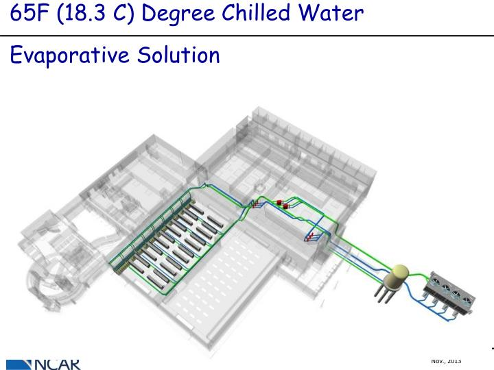 65F (18.3 C) Degree Chilled Water