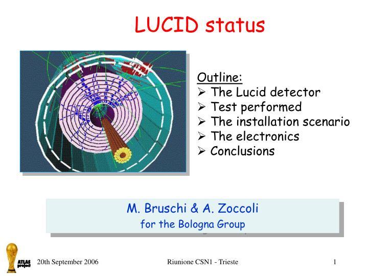 LUCID status