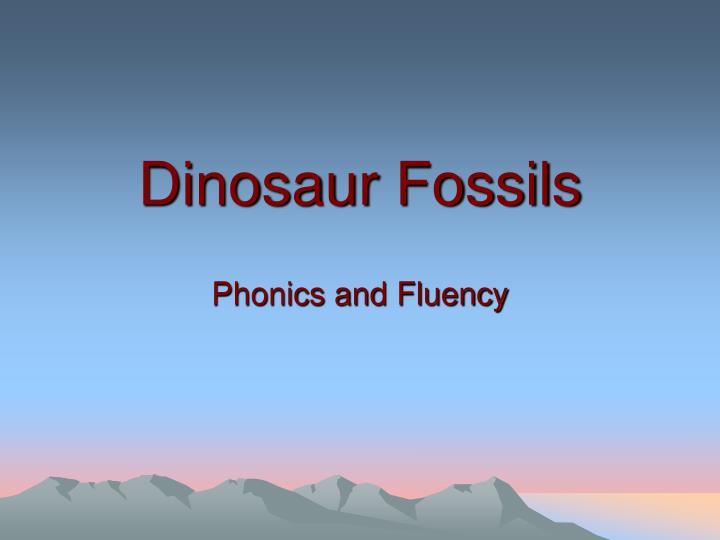 dinosaur fossils n.
