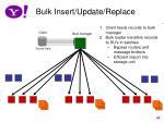 bulk insert update replace