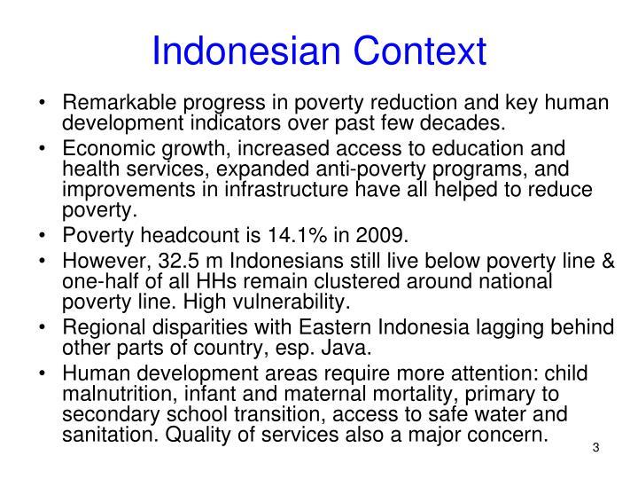 Indonesian context