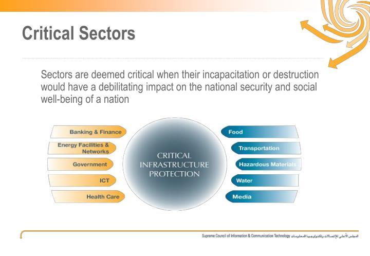 Critical Sectors