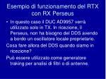 esempio di funzionamento del rtx con rx perseus
