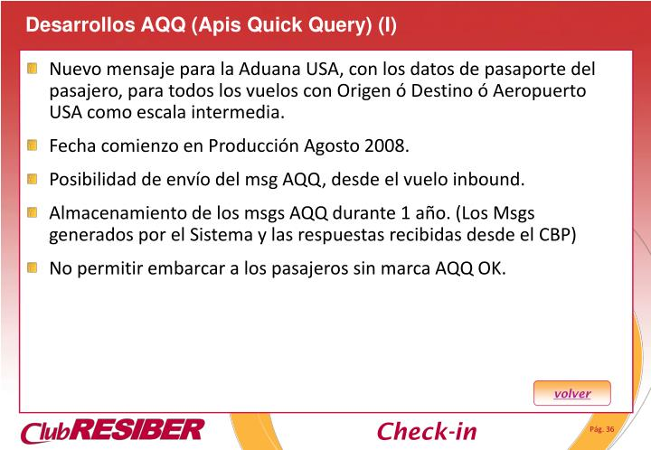 Desarrollos AQQ (Apis Quick Query) (I)