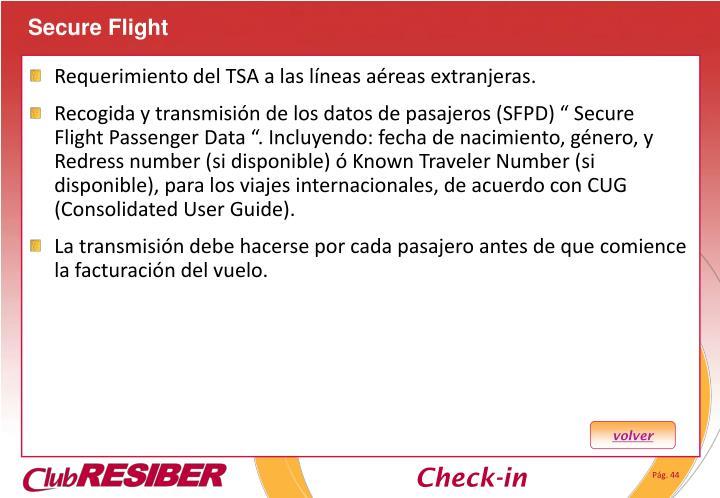 Secure Flight