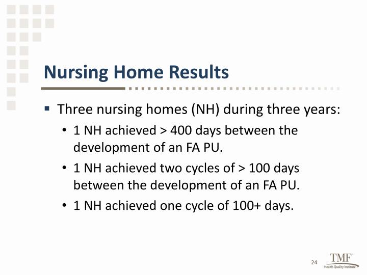 Nursing Home Results