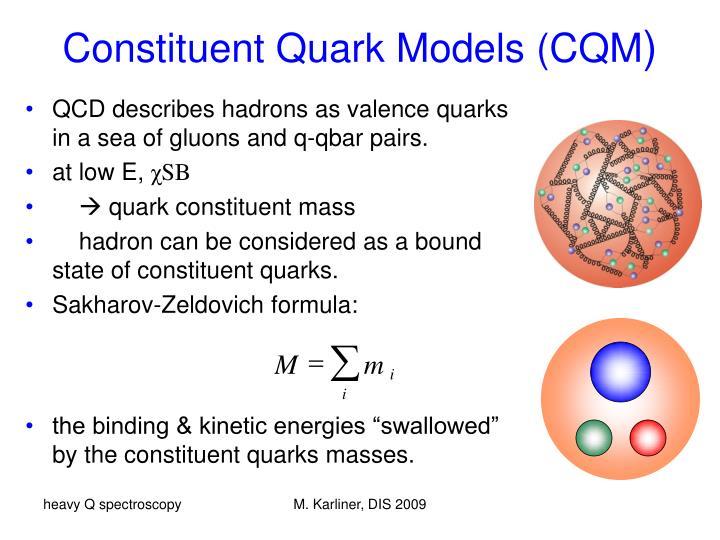 Constituent quark models cqm