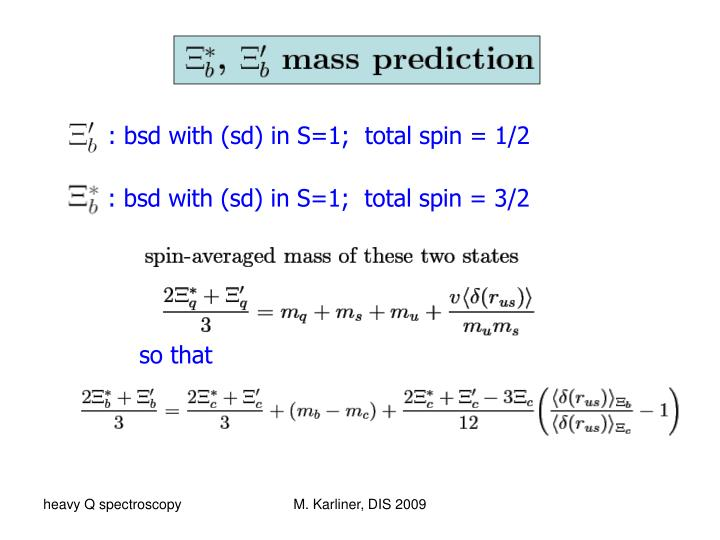 : bsd with (sd) in S=1;  total spin = 1/2