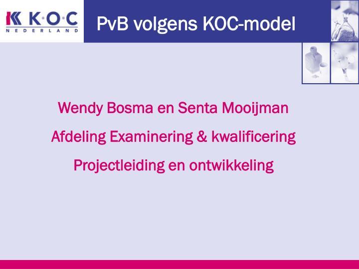PvB volgens KOC-model
