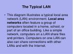 the typical lan1