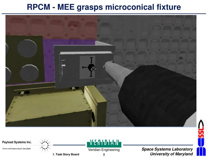 Rpcm mee grasps microconical fixture