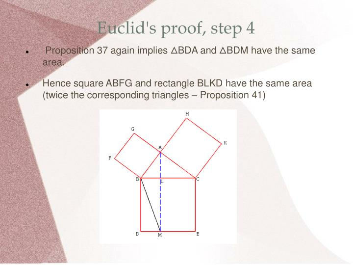 Euclid's proof, step 4