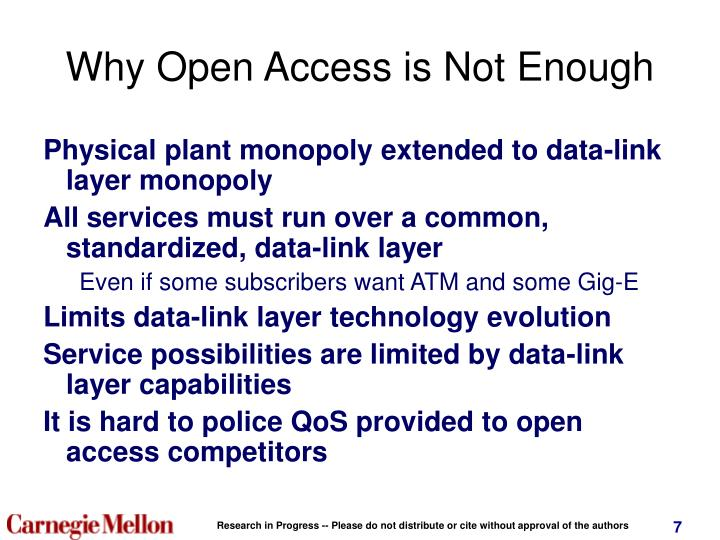 Why Open Access is Not Enough
