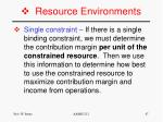 resource environments1