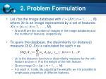2 problem formulation