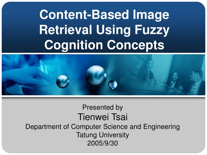 content based image retrieval using fuzzy cognition concepts n.