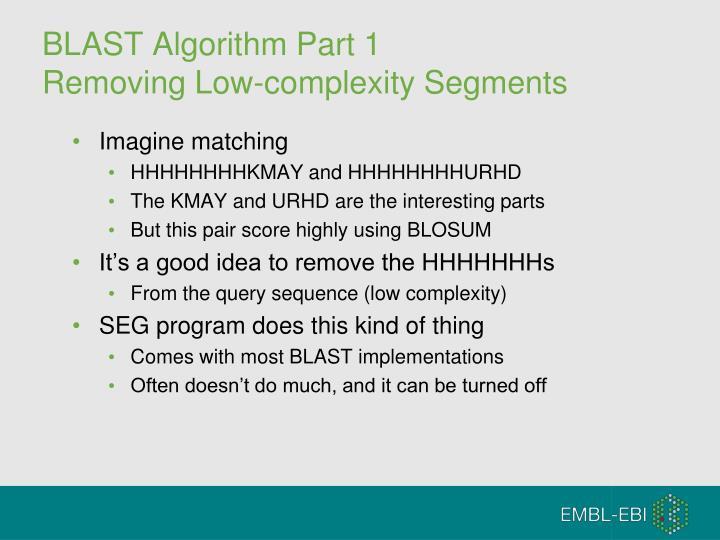 BLAST Algorithm Part 1