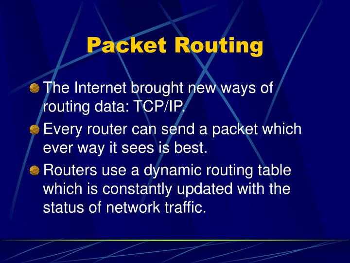 Packet Routing