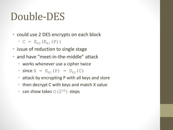 Double-DES