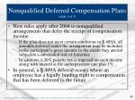 nonqualified deferred compensation plans slide 1 of 3